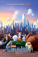 The Secret Life of Pets - Icelandic Movie Poster (xs thumbnail)