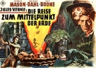 Journey to the Center of the Earth - German Movie Poster (xs thumbnail)