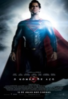 Man of Steel - Brazilian Movie Poster (xs thumbnail)