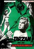Tarzan and the Leopard Woman - German Movie Poster (xs thumbnail)