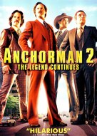 Anchorman 2: The Legend Continues - DVD cover (xs thumbnail)