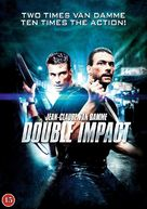 Double Impact - Danish DVD cover (xs thumbnail)