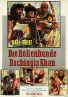Maciste contro i Mongoli - German Movie Poster (xs thumbnail)