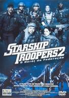 Starship Troopers 2 - Brazilian DVD cover (xs thumbnail)