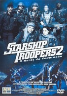 Starship Troopers 2 - Brazilian DVD movie cover (xs thumbnail)