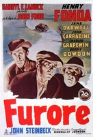 The Grapes of Wrath - Italian Theatrical poster (xs thumbnail)