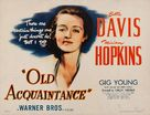 Old Acquaintance - Movie Poster (xs thumbnail)