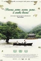 Bom yeoreum gaeul gyeoul geurigo bom - Russian Movie Poster (xs thumbnail)