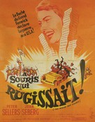 The Mouse That Roared - French Movie Poster (xs thumbnail)