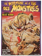 Misterio en la isla de los monstruos - French Movie Poster (xs thumbnail)