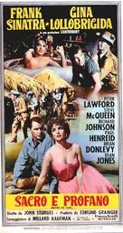 Never So Few - Italian Movie Poster (xs thumbnail)