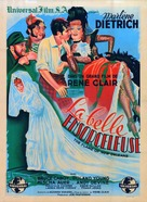 The Flame of New Orleans - French Movie Poster (xs thumbnail)