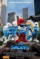 The Smurfs - Australian Movie Poster (xs thumbnail)