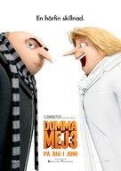 Despicable Me 3 - Swedish Movie Poster (xs thumbnail)
