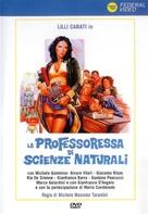 La professoressa di scienze naturali - Italian DVD cover (xs thumbnail)
