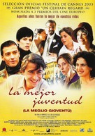 La meglio gioventù - Spanish Movie Poster (xs thumbnail)