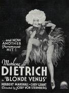 Blonde Venus - poster (xs thumbnail)