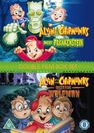 Alvin and the Chipmunks Meet Frankenstein - British DVD cover (xs thumbnail)