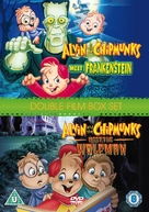 Alvin and the Chipmunks Meet Frankenstein - British DVD movie cover (xs thumbnail)