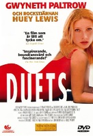 Duets - Swedish DVD cover (xs thumbnail)