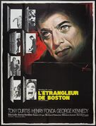 The Boston Strangler - French Movie Poster (xs thumbnail)