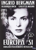 Europa '51 - Spanish DVD movie cover (xs thumbnail)