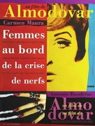 Mujeres Al Borde De Un Ataque De Nervios - French Movie Poster (xs thumbnail)