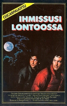 An American Werewolf in London - Finnish VHS movie cover (xs thumbnail)