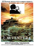 L'avventura - French Movie Poster (xs thumbnail)