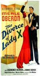 The Divorce of Lady X - Movie Poster (xs thumbnail)