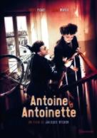 Antoine et Antoinette - French DVD cover (xs thumbnail)
