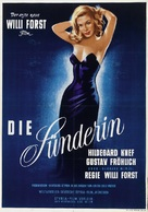 Sünderin, Die - Austrian Movie Poster (xs thumbnail)