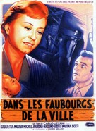 Ai margini della metropoli - French Movie Poster (xs thumbnail)
