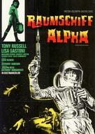I criminali della galassia - German Movie Poster (xs thumbnail)