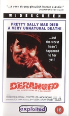 Deranged - British DVD cover (xs thumbnail)