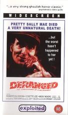 Deranged - British DVD movie cover (xs thumbnail)