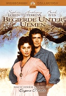 Desire Under the Elms - German DVD cover (xs thumbnail)