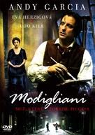 Modigliani - Czech poster (xs thumbnail)