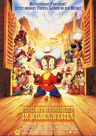 An American Tail: Fievel Goes West - German Movie Poster (xs thumbnail)