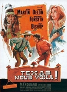 Texas Across the River - French Movie Poster (xs thumbnail)