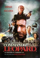 Kommando Leopard - German DVD cover (xs thumbnail)
