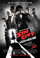 Sin City: A Dame to Kill For - Argentinian Movie Poster (xs thumbnail)