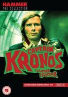 Captain Kronos - Vampire Hunter - British DVD movie cover (xs thumbnail)