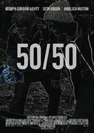 50/50 - Swiss Movie Poster (xs thumbnail)