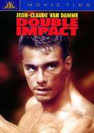Double Impact - DVD cover (xs thumbnail)