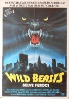 Wild beasts - Belve feroci - Italian Movie Poster (xs thumbnail)