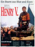 Henry V - German Movie Poster (xs thumbnail)