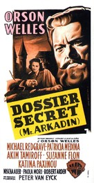 Mr. Arkadin - French Movie Poster (xs thumbnail)
