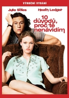 10 Things I Hate About You - Czech DVD cover (xs thumbnail)