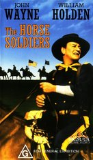 The Horse Soldiers - Australian Movie Cover (xs thumbnail)